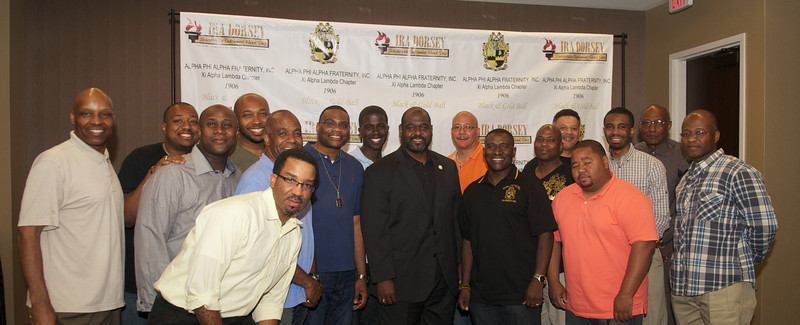 2014 APA XAL Black & Gold Ball Friday Social