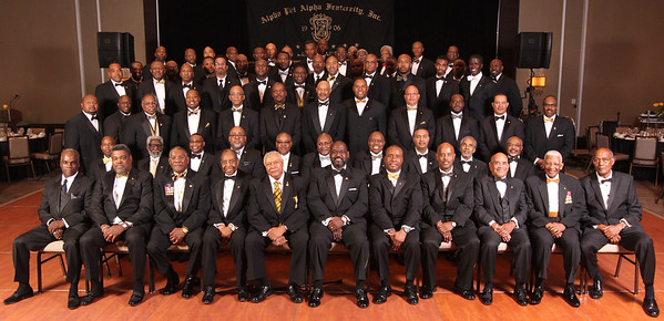 2014 ΑΦΑ ΞΑΛ Black & Gold Ball Group Photo
