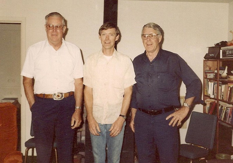 Kenneth, Eldon, David Black