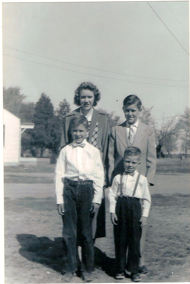 Shirley,Jerry,Laverne,Allen Ray