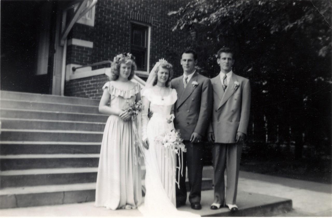 Guy & Opal Sawhill, Doris June Black