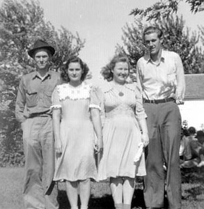 Dale, June, Anna Belle, Kenneth 1940