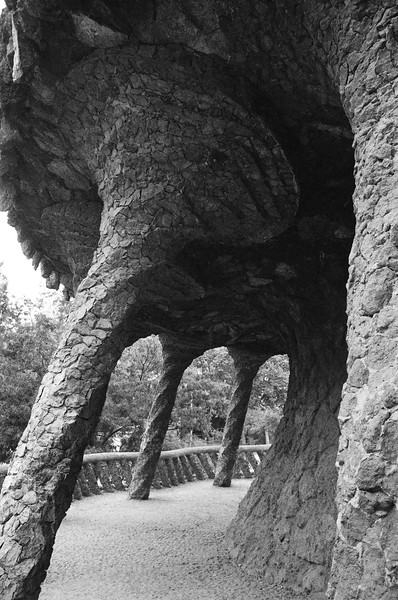 Parc Guell, Barcelona, Spain 2003