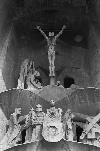 La Sagrada Familia, Barcelona, Spain 2003
