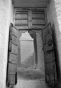 Door in Medina Chefchaouen, Morocco