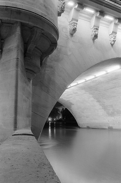 Bridge at Nuit, Paris, France 2001
