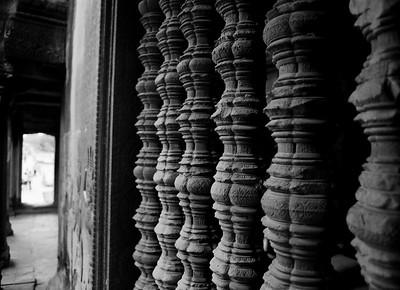 Inside Angkor Wat Temple Siem Reap, Cambodia