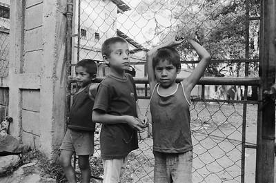 Boys, Copan Ruinas, Honduras
