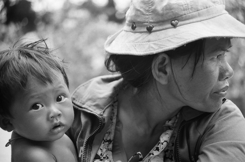 Mother and child, Phnom penh, Cambodia 2007