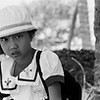 Young girl on her way home from school, Mui Ne, Vietnam 2005
