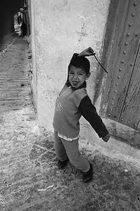 Boy in Medina, Chefchaouen, Morocco
