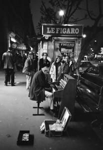 Musician Paris, France