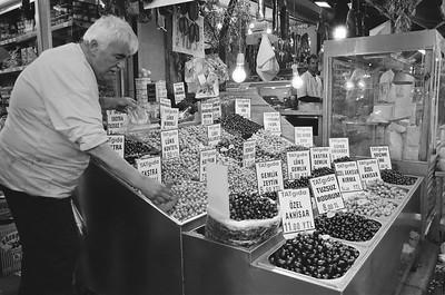 Olives, Istanbul, Turkey