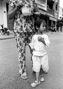 Little girl and Mother, Vietnam