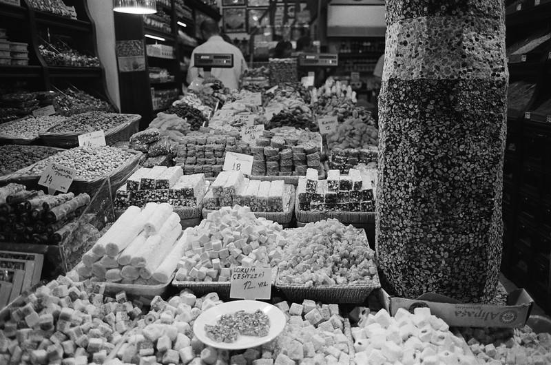 Turkish sweets, Istanbul, Turkey 2009