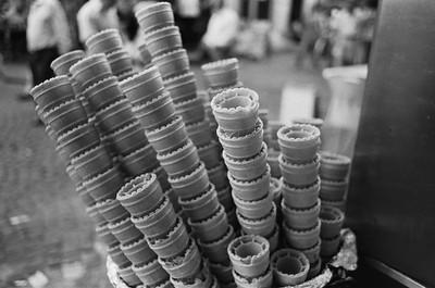 Ice Cream Cones, Istanbul Turkey