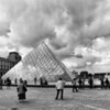 Storms Descending on the Louvre
