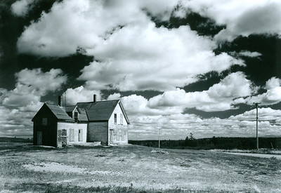 """Somebody Used to Live Here"" (traditional photography) by Marty Harris"