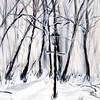 """ICE"" (acrylic) by Donna Harp"