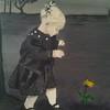 """Abigail"" (acrylic) by Kathleen Carrier"
