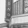 """""""Hiland Theatre"""" (graphite) by Cheryl Godin"""