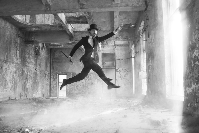 """Jump"" (photography) by Marina Bogumil"