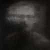 """Blur"" (charcoal, gouache, acrylic medium) by Dillon Samuelson"