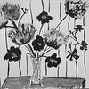 """""""Flowers in Vase"""" by (ink and acrylic) by Clarise Samuels"""