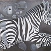 """""""In black and white, gently"""" (oil on canvas) by Olena Sokolova"""