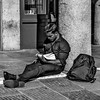 """Macho Student"" (photography) by Anton Panchenkov"