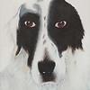 """""""Jack"""" (acrylic) by Tricia Hoye"""