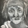 """""""Drifter"""" (charcoal) by Patricia Nelson"""
