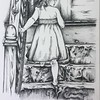 """BIG STEPS"" (charcoal) by Lari Beth Mattingly"