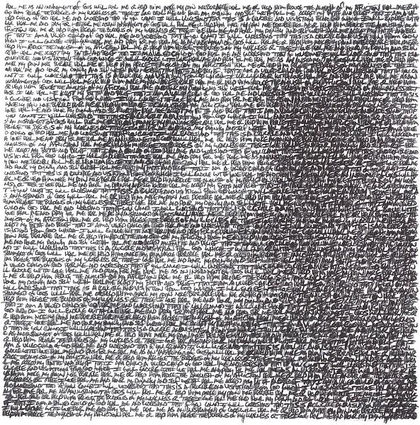 """""""Healthcare Portrait 8"""" (pen) by Robert Bern"""