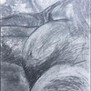"""Graphite"" (graphite powder wash and pencil) by Deborah Kelly"