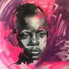 """Going far"" (oil on canvas) by Filmon Adelehey"