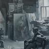 """Memories"" (tempera on paper) by Ekaterina Blinova"