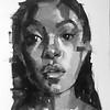 """Sharp eyed"" (oil on canvas) by Filmon Adelehey"