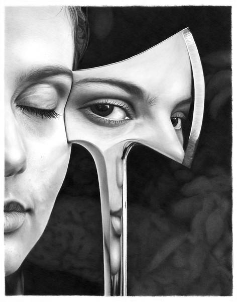 """""""Eden"""" (graphite) by Jim Little"""