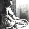 """Inez"" (charcoal) by Deborah Kelly"