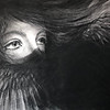 """""""Silent"""" (charcoal) by Natalia Nikulina"""