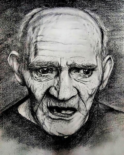 """Detached feeling"" (pencil) by Natalia Kudrya"