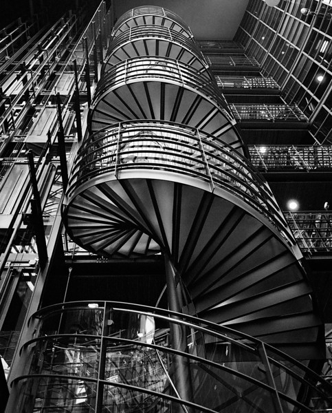 Spirals at Nokia House, 2