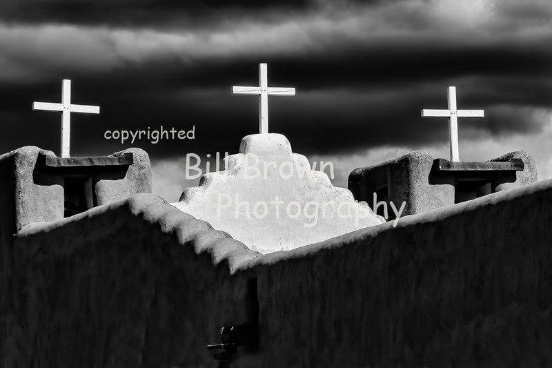 Dark Clouds and Crosses