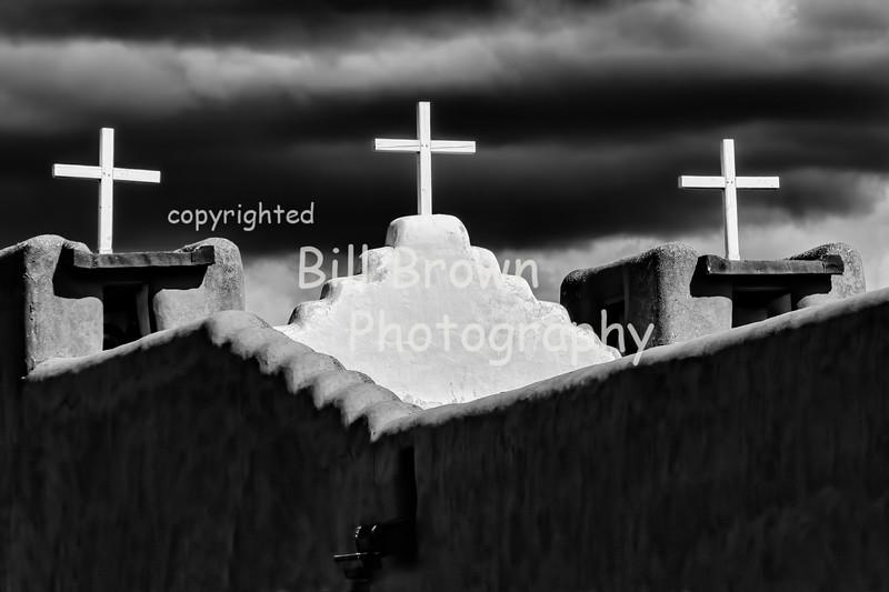 Dark Clouds and Crosses