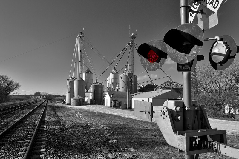 Grain Elevator, Agnew, Illinois