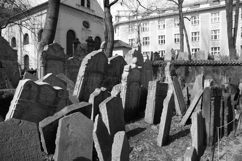 """Jewish Cemetery, Prague"""