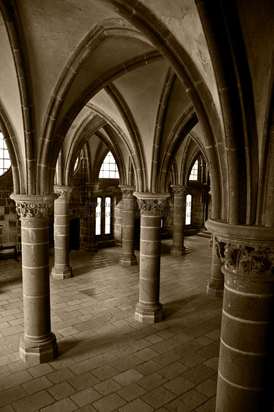 Knight's Room, Mont St. Michel, France