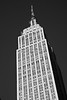 Empire State Building in B&W, NYC