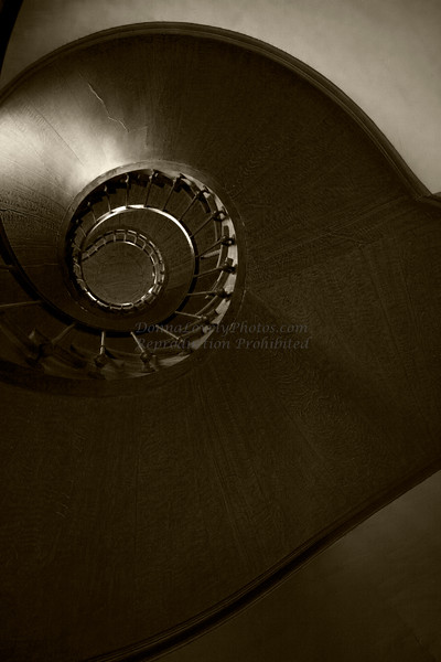 Azay-le-Rideau Chateau Staircase, Loire Valley, France<br /> First Place, Artsbridge Member's Show, 2010, Stockton, NJ